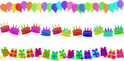 9303   birthday border edges