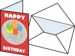 9304   birthday card