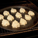 8453   Christmas cookies baking in the oven
