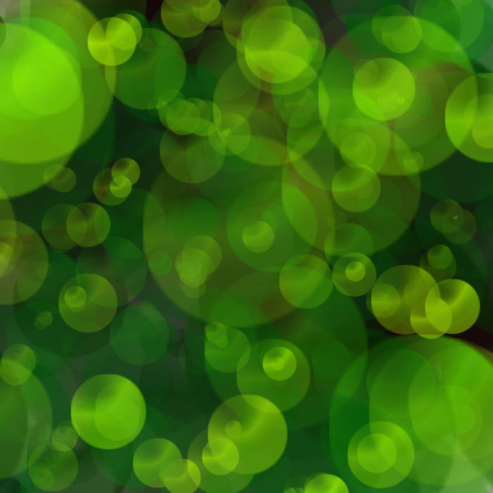 <p>Green bokeh blur pattern clip art illustration.</p>