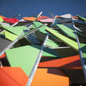 8726   Modern colourful building facade in Melbourne