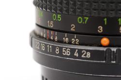 11089   Old Black Camera Lens