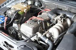 11129   Close Up of Car Engine