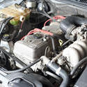 11129   Close Up of Car Engine