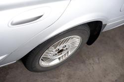 11130   Wheel and side door of a car