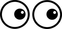 8950   cartoon eyes 1