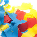 11445   Colored Celebration Streamers