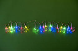 11700   Colorful garland of Christmas lights