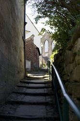 7969   Steps to the congregational church