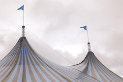 10977   Big Top tent at a circus