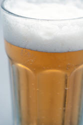 10439   Glass of cold frothy beer