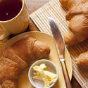 10251   Delicious continental breakfast with croissants
