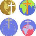 9830   cross globe icons