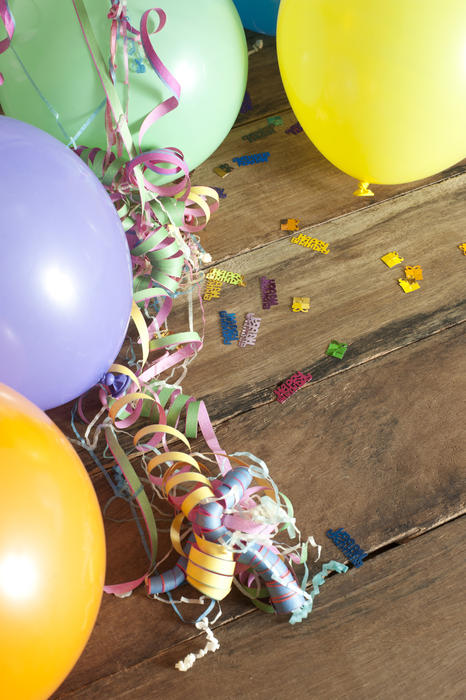 Free Stock Photo 11449 Party Decorations Border
