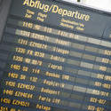 10682   Electronic Departure Board at the Airport terminal