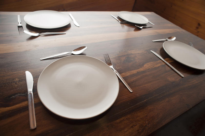 High Dining Room Table