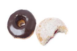 8419   Chocolate and jam doughnuts