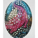 8130   Hand painted easter egg