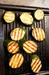 11783   Nine grilled zucchini