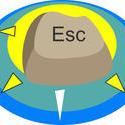 9054   escape button