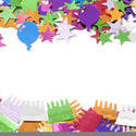 10595   Festive border for a party celebration or event