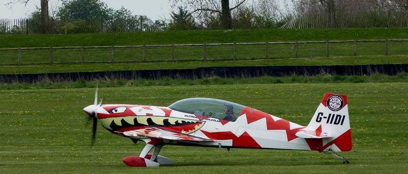Editorial Use - Taxiing after a great display