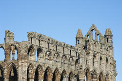 7923   Whitby Abbey ruins detail