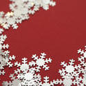 10570   Festive Border Design on red Background