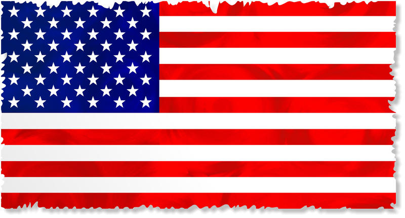 <p>Grunge flag of the United States of America.</p>