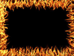 11060   flame frame