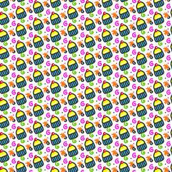 10859   food cupcake pattern