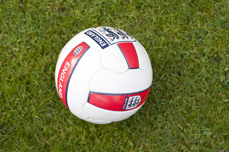 England soccer ball or...