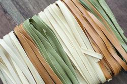 11785   Multicolored fettuccine Italian pasta