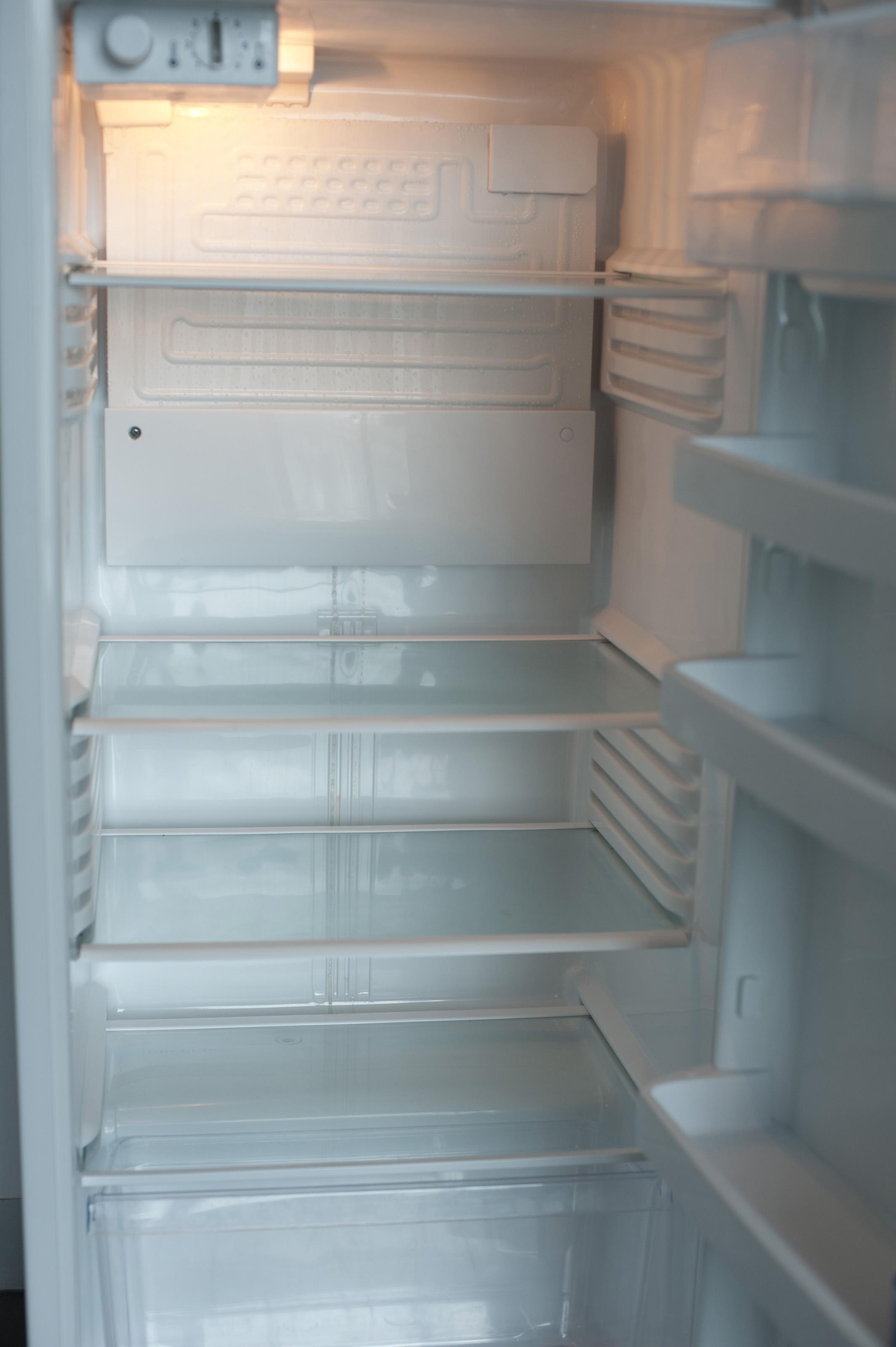 Free Stock Photo 10651 Open Empty Refrigerator