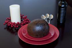 8657   Traditional Christmas fruit pudding