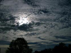 8378   glowing sky