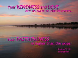 10737   God's Kindness, Love and Faithfulness