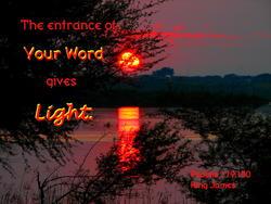 10838   God's Word Gives Light
