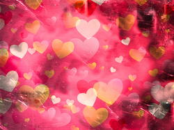 9542   grunge hearts pattern