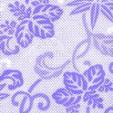 9101   halftone floral pattern