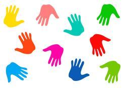 8952   handprints