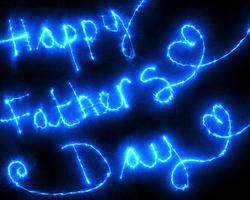9331   happy fathers day blue