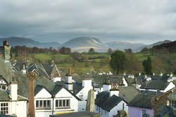 8758   Hawkshead roofscape