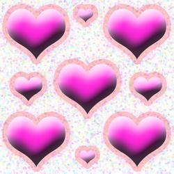 9333   heart background