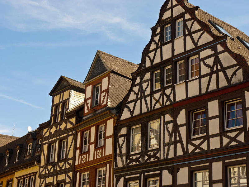 <p>Historic-Colourful-buildings.jpg&nbsp;</p>Buildings forming part of the town square at Cochem,Germany. Colourful, well maintained and at there best on a sunny morning.