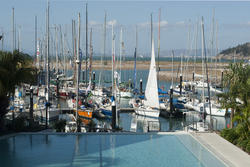 10988   Small marina in a holiday resort