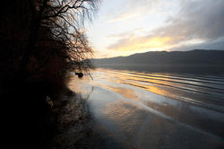 9974   Beautiful sunset in the English Lake District