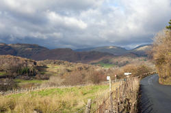 8764   Country road through the Langdales