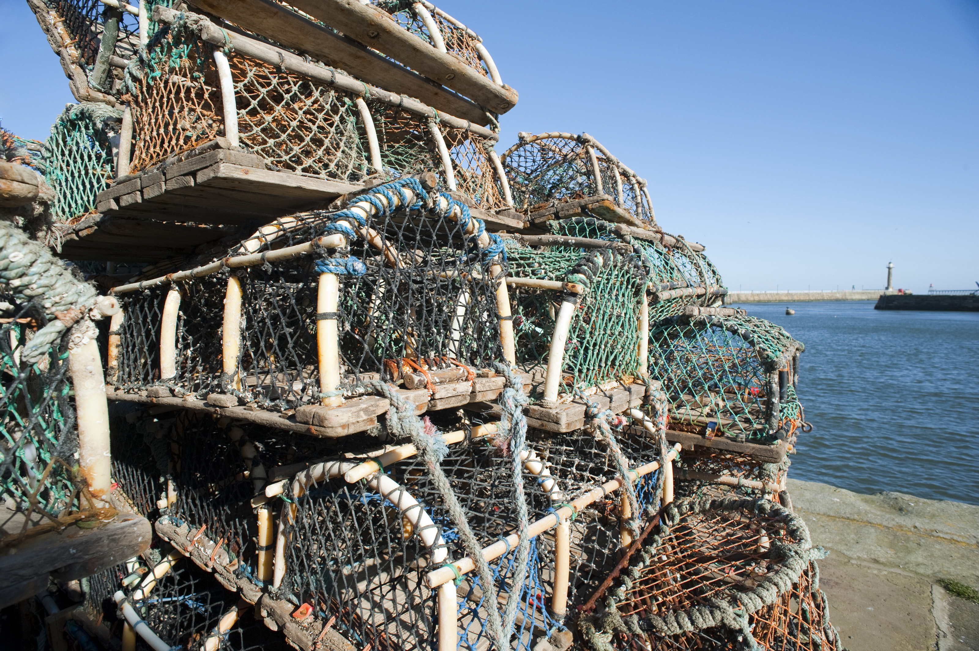 Free Stock Photo 7837 Crab or lobster pots   freeimageslive