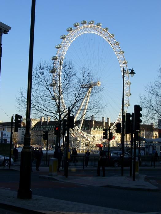 <p>the london eye - editorial use</p>